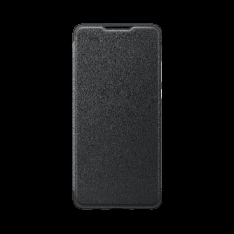 HUAWEI P30 lite Wallet pouzdro (Černá)