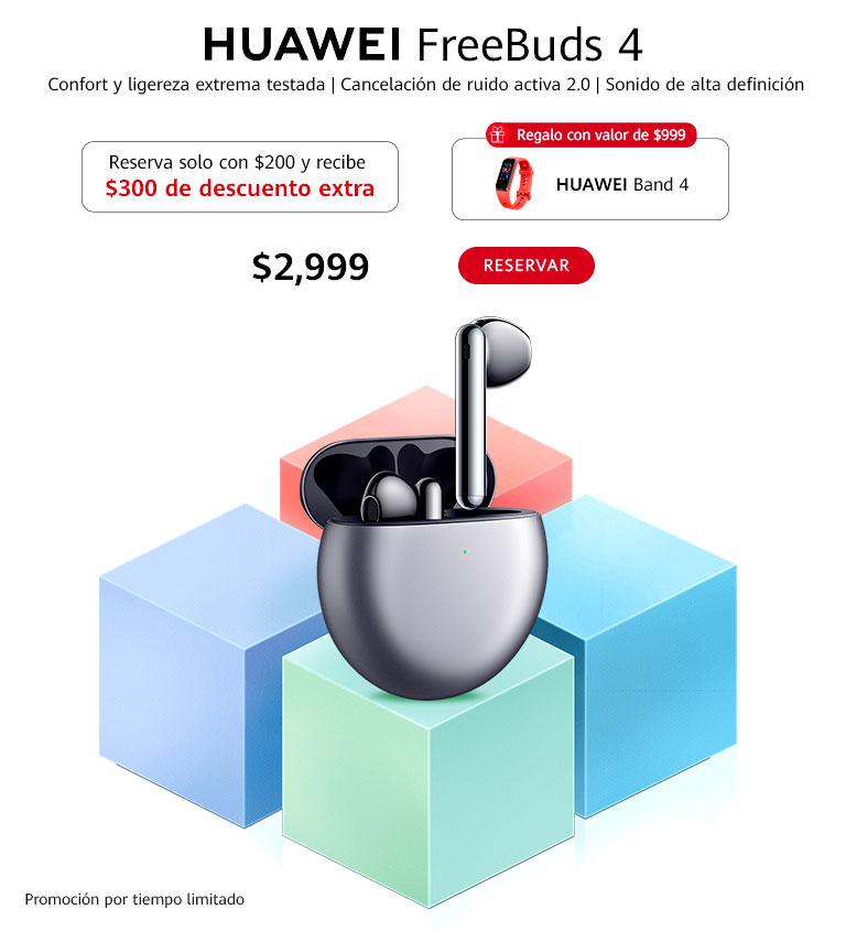 Huawei Freebuds4 WAP
