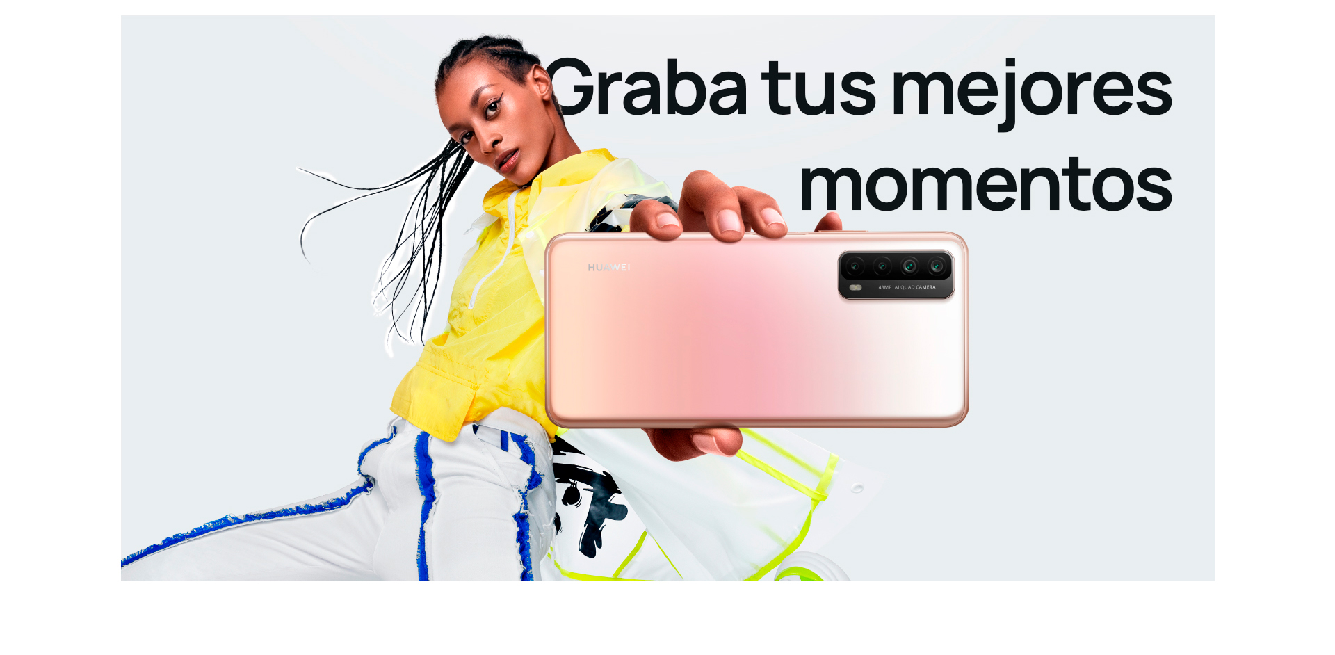 Huawei Y7a + Record your best moment