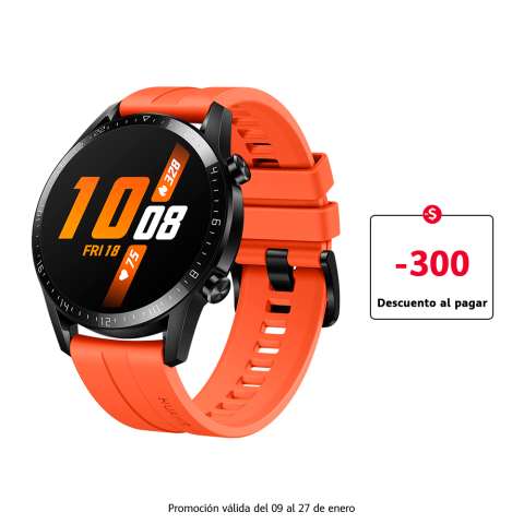 HUAWEI WATCH GT 2 46 mm (Naranja)