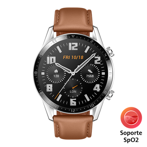 HUAWEI Watch GT 2 (Café Leather)