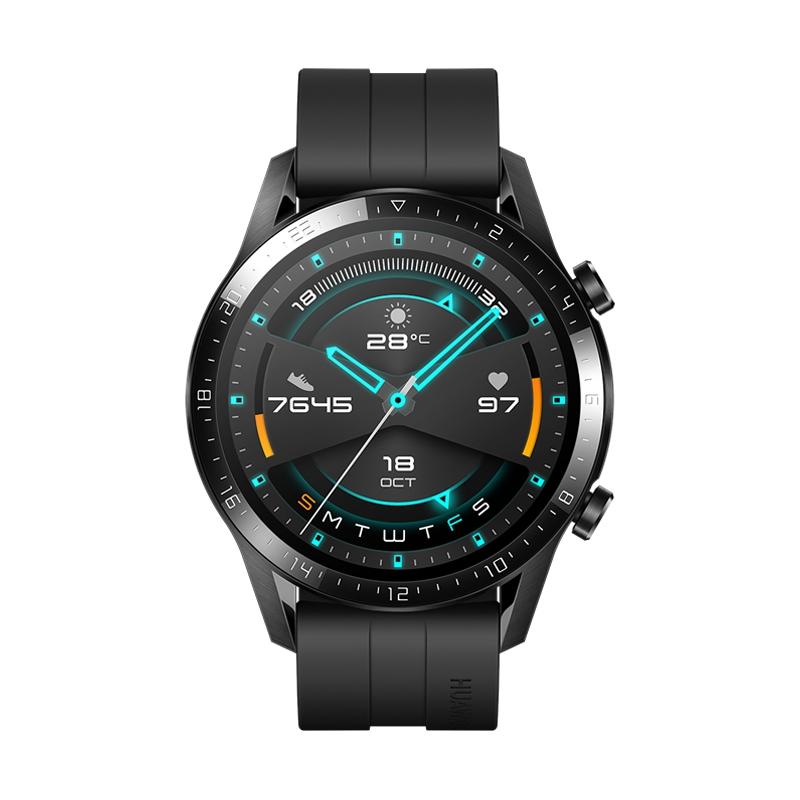 Картинка - HUAWEI Watch GT 2 Матовый черный 46мм