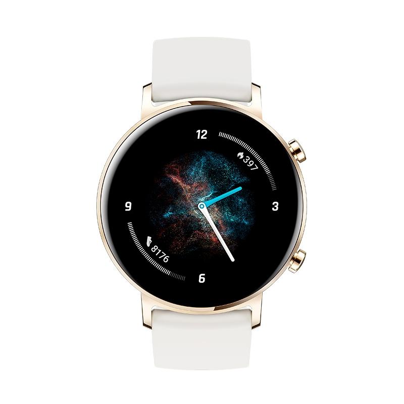 Картинка - Умные часы HUAWEI Watch GT 2 Белоснежный 42мм