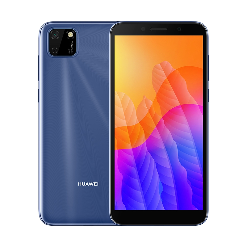 Смартфон HUAWEI Y5p Мерцающий синий