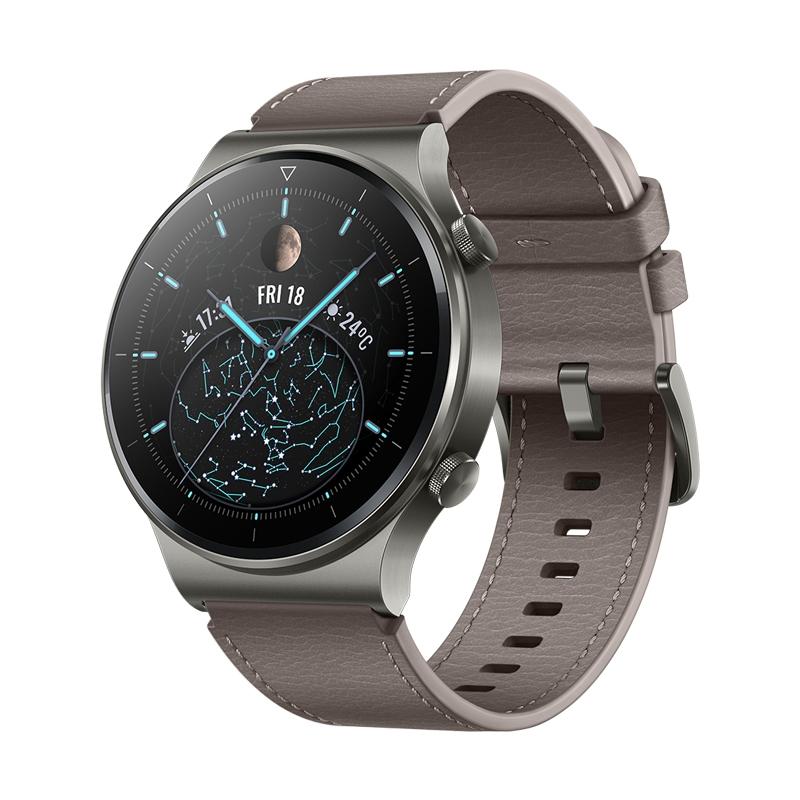 Картинка - Умные часы HUAWEI WATCH GT 2 Pro Туманно-серый