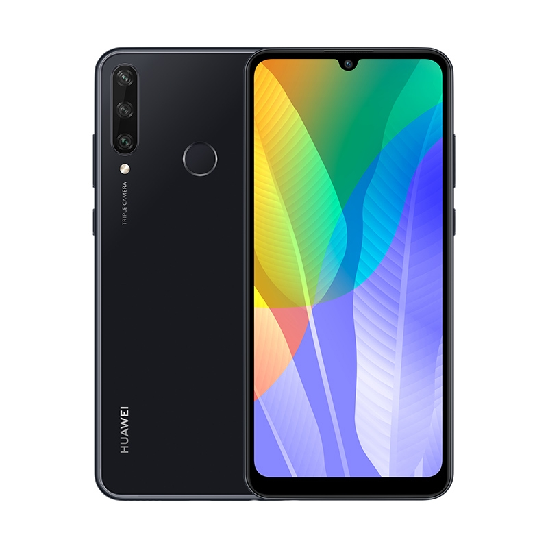 Смартфон HUAWEI Y6p Полночный черный