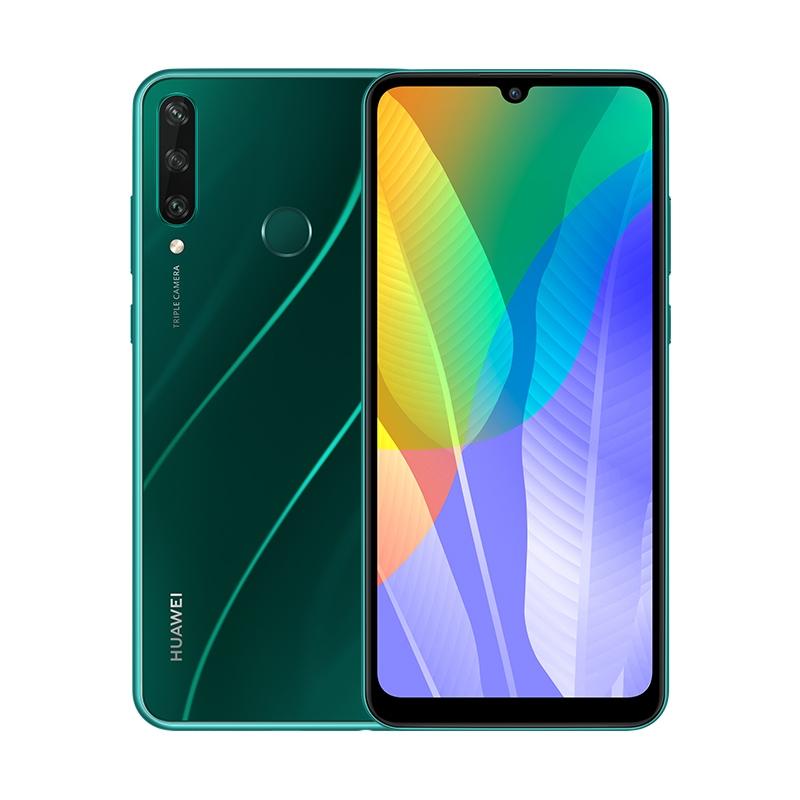 Смартфон HUAWEI Y6p Изумрудно-зеленый