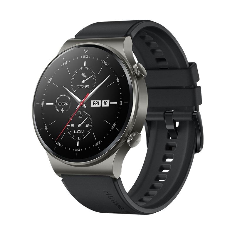 Картинка - Умные часы HUAWEI WATCH GT 2 Pro Sport Черная ночь