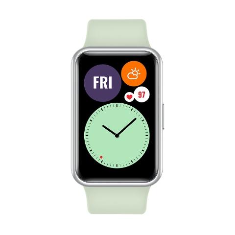 Часы HUAWEI Watch Fit Мятный зеленый