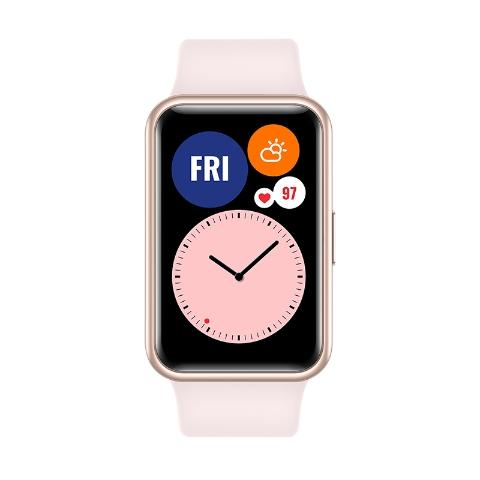 Картинка - Часы HUAWEI Watch Fit Розовая сакура